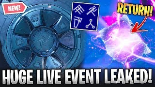 Fortnite: Loot Lake Live Event LEAKED! *Cube, Snow, Lake* (All Files, Sounds & More!)