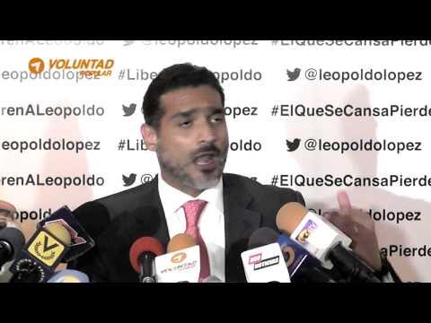 Juan Carlos Gutiérrez: Juicio contra Leopoldo López está prendido en mentiras