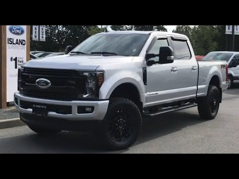 2019 Ford F-350 LARIAT Sport W/ level Kit and Toyo Tires Review| Island Ford