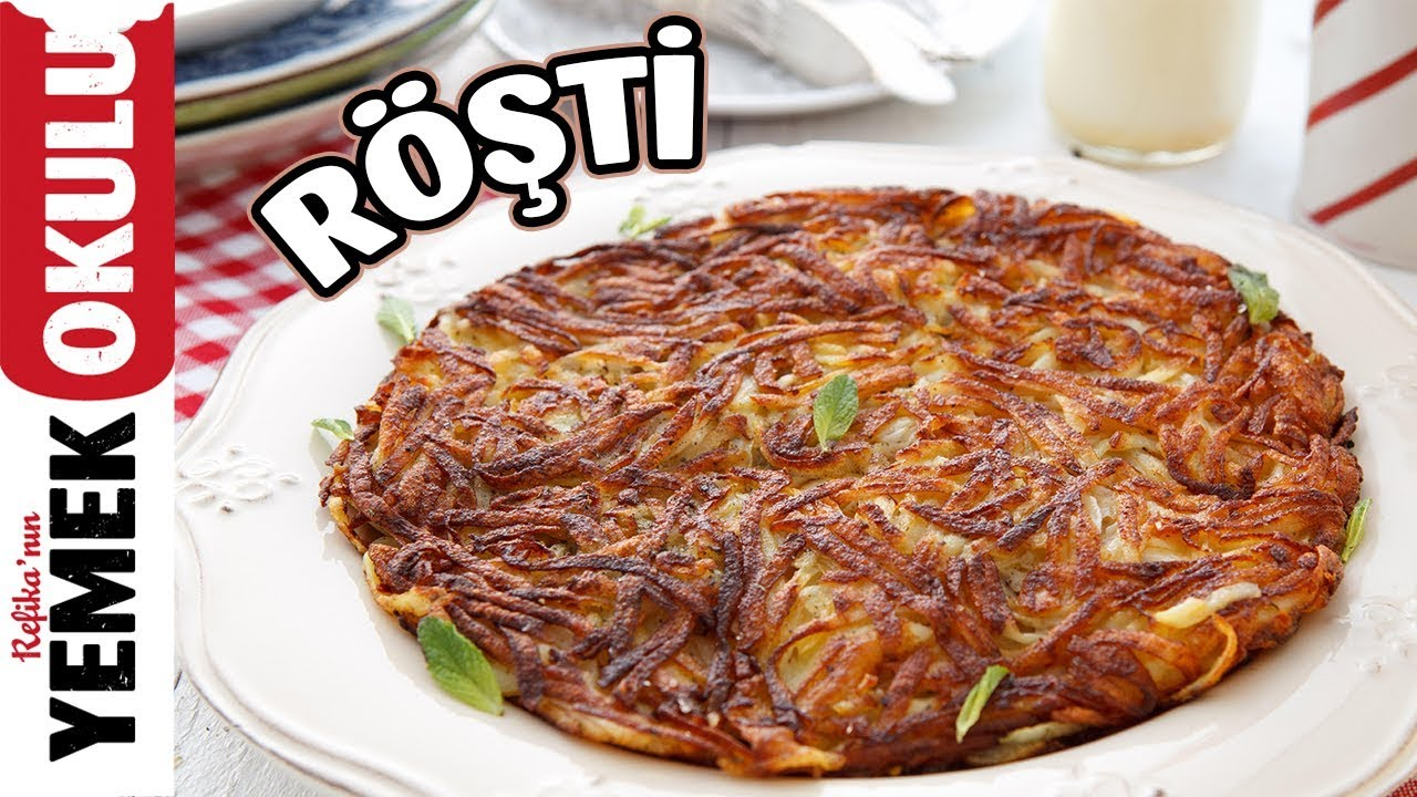 Röşti Tarifi | Tavada Rende Patates Böreği Yapımı