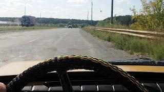 ЗАЗ-968А вернулся домой САМ, ПРАКТИЧЕСКИ