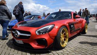 Mercedes AMG-GTs PRIOR DESIGN - revving, acceleration