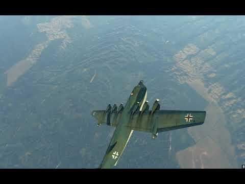 """War Thunder - BV-238 Double kill for the Win! [1.89 """"Locked On""""] Air RB"""