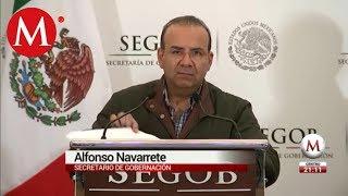 Segob detecta gente armada entre migrantes que buscaron entrar a México