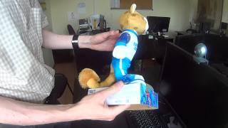 Видеобзор игрушки - Леопард на сноуборде -символ олимпийских игр в Сочи 2014