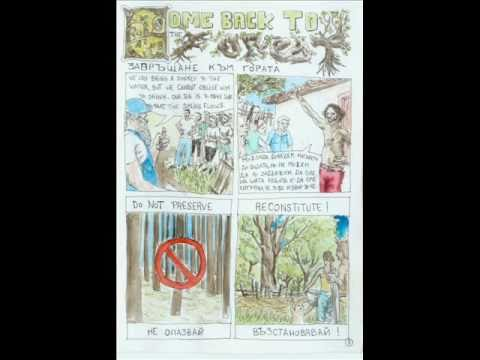Gardens for comic strip and poems - YouTube