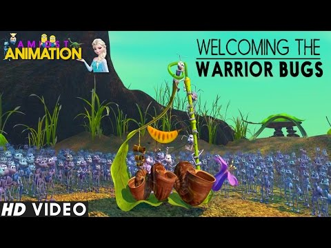 A Bugs Life 1998  Welcoming the Warrior Bugs