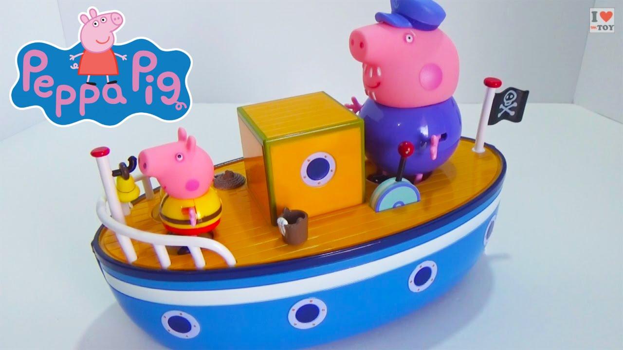 Nouveau Peppa Pig Grandpa Pig/'s Bathtime Boat
