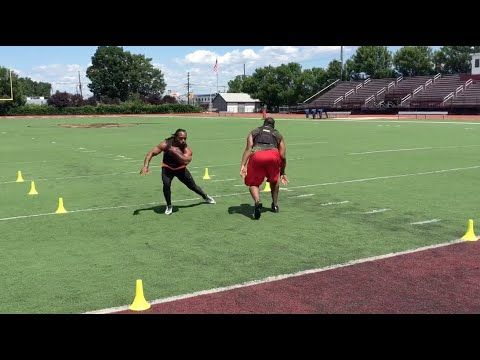 "DeFrancosGym.com: TRUE ""Agility"" training (football running back)"
