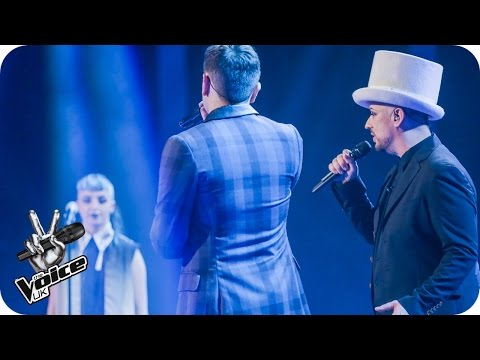 Team George perform 'Victims': The Live Semi-Final - The Voice UK 2016