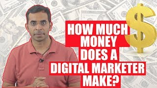 Answered: How Much Money does a Digital Marketer Make | Career in Digital Marketing