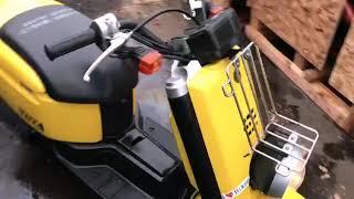 Краткий обзор скутера Yamaha Vox