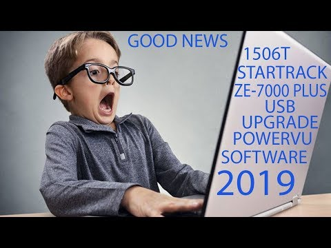 1506T New Software 2019 Sony Network