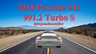 2018 Porsche 911 991.2 Turbo S in Chalk, Review