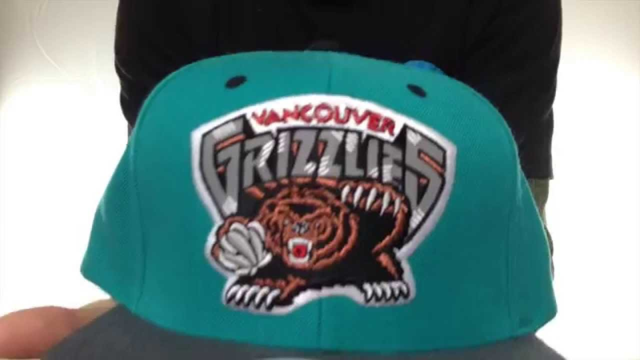 ee96a5cf0f4 Grizzlies  3M XL-LOGO SNAPBACK  Teal-Grey Hat by Mitchell   Ness ...