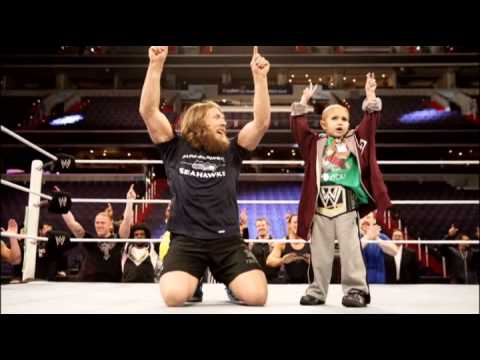 Connor The Crusher, A Boy With Cancer Meets His WWE Hero