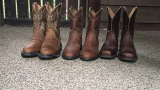 Ariat Western Boots: Roper, Rambler And The Workhogs