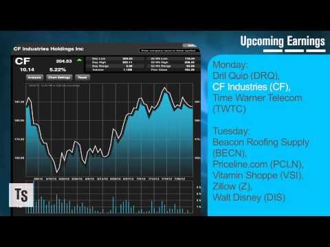The Week Ahead: Earnings From CF Industries, Priceline