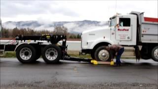 Zacklift Z303 FIFTHWHEELER: Using the Heavy Duty Wheel Lift