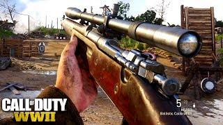 Call of Duty: World War 2 SNIPER GAMEPLAY !! (COD: WW2 Multiplayer)
