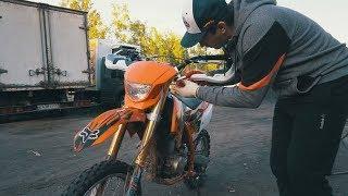 BSE 250 Эндуро против новичков. Обзор мотоцикла и мои ошибки.