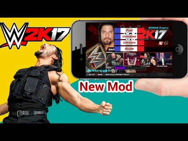 WR3D 2K17 mod + Link in the video description | GamerHow