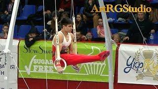 Bora Tarhan (TUR) Rings AA Junior - 2018 Ukraine International Cup