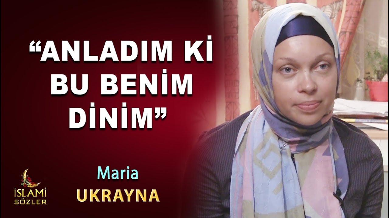 "Müslüman Olan Maria ""Anladım ki İslam benim Dinim"" Ukrayna"