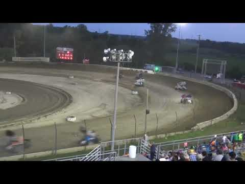 7-27-19 PLYMOUTH SPEEDWAY, PLYMOUTH, IN SOD FEATURE. - dirt track racing video image
