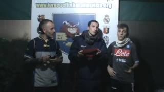 Torneo El Fùtbol Intervista ai migliori in campo Genoa - Inter