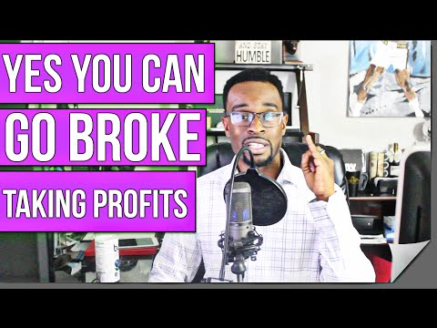 FOREX Training: How You CAN Go BROKE Taking Profits.