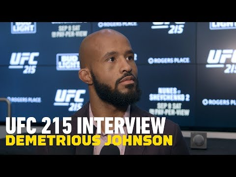 Demetrious Johnson Discusses Ray Borg Withdrawing From UFC 215, Potentially Fighting In October
