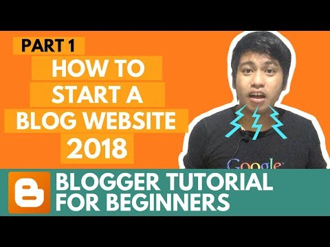 Blogger Tutorial for Beginners 2017 (The Essential You Should Know - 720p HD)