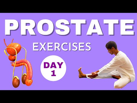 Prostate Exercises #1 | How to Reduce Enlarged Prostate without Surgery | YOGA WITH AMIT