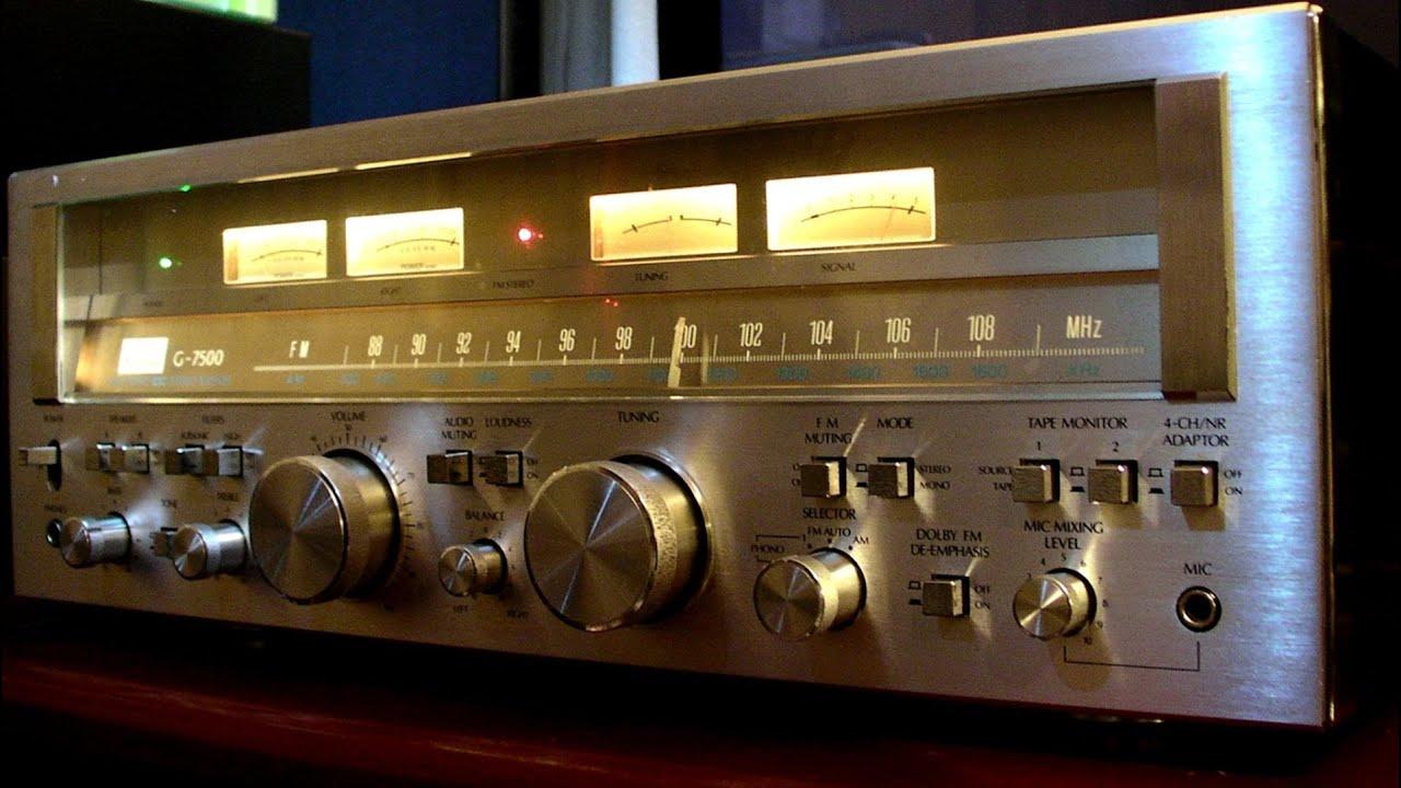 sansui G-7500 review- the best investment is to buy these rare items