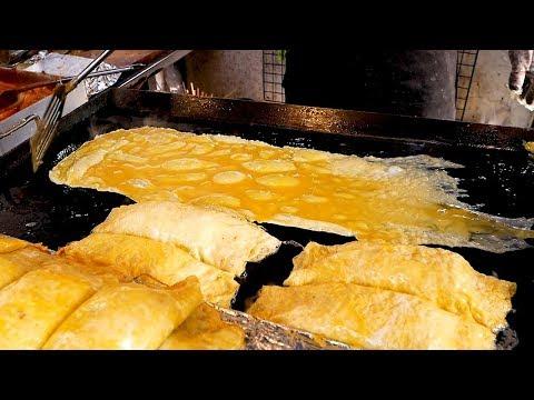 Omelet Kimbap – Korean street food
