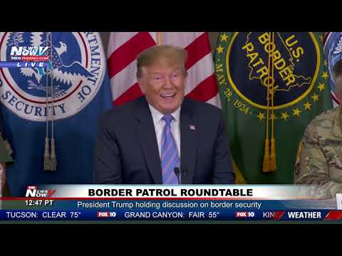 WATCH: President Trump Meets With Border Patrol Agents - FULL EVENT - CALEXICO, CA