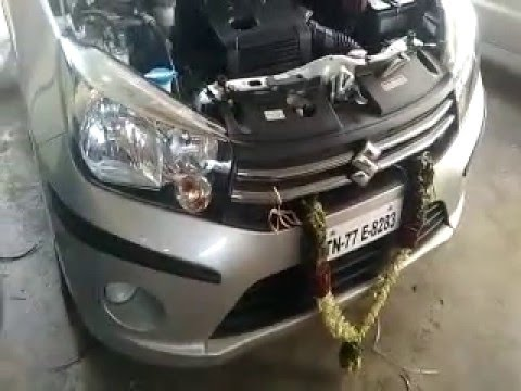 SUZUKI Celerio LPG Kit fitted by Go Gas Autos 9994570627