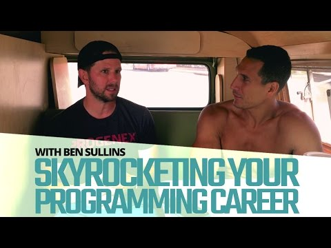 Skyrocketing Your Programming Career (With Ben Sullins From Teslanomics)