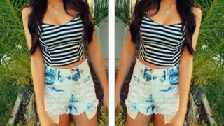 How to Style High Waisted Shorts Thumbnail