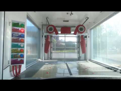 Shell Gas Station Car wash  - YouTube