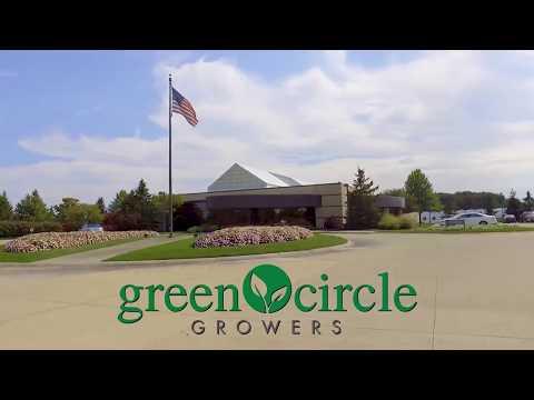 Drone Shots at Green Circle Growers