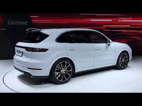 2018 Porsche Cayenne walkaround at Frankfurt Motor Show 2017