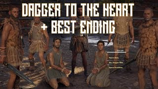 Assassin's Creed Odyssey - Dagger to the Heart Sidequest All Endings Walkthrough