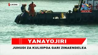 BREAKING: Likoni ferry tragedy car sighted, bodies possibly still inside