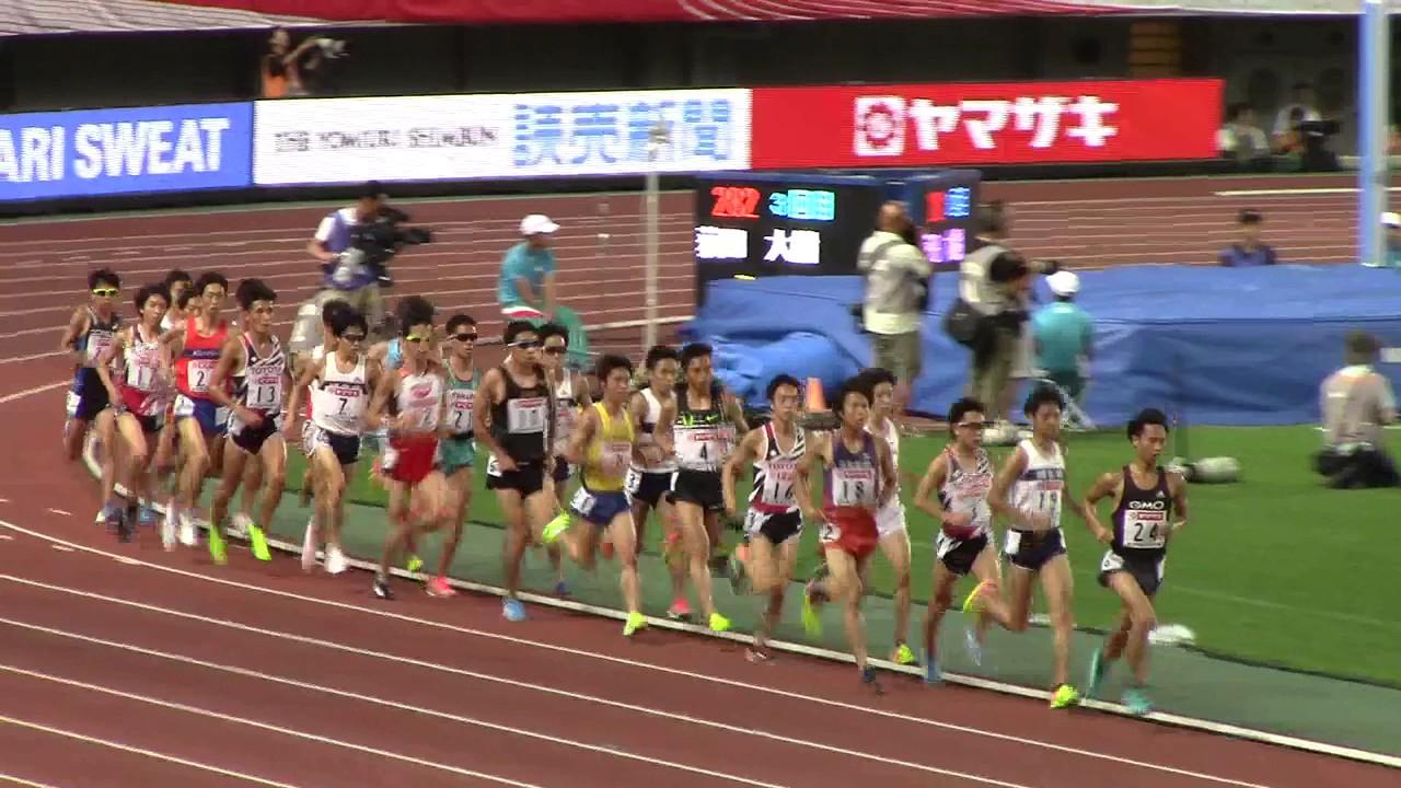 2017 日本選手権陸上 男子10000m...