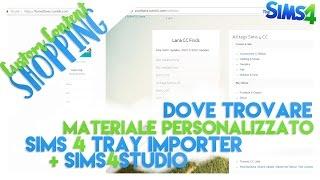 The Sims 4 | CC Shopping — IL MIO MATERIALE + SITI E PROGRAMMI UTILI!