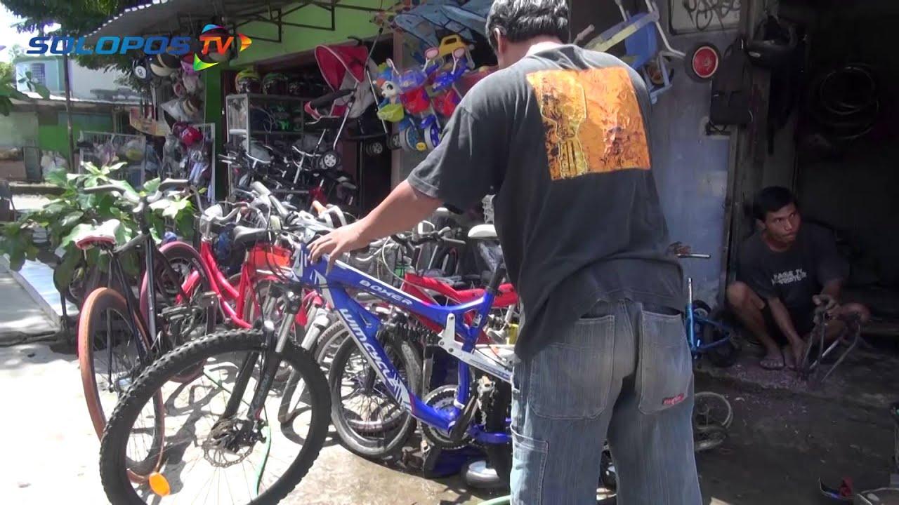 Cara Bikin Sepeda Bekasmu Jadi Baru Youtube
