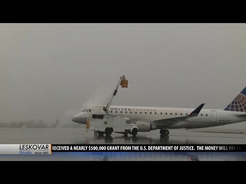 Winter preparations underway at Bozeman Yellowstone International Airport
