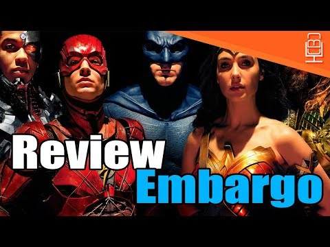 Justice League Reviews NOT OUT Till Day Before Release!